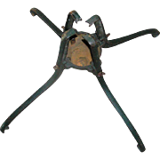 REDUCED Cast Iron Christmas Tree Stand, American Water Motor Company, Columbus, Ohio, early 20