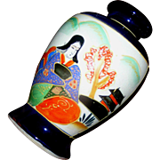 SALE Simple, Direct, Satsuma, vase from the Showa dynasty after 1921