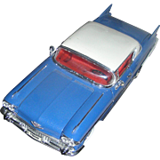 SALE Model of the 1957 Cadilac Elderado Seville. Excellent mounted on a removable base!