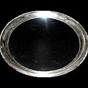 SALE Silverplate Platter