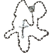 Excellent vintage all Sterling GALE Rosary Beads rosaries