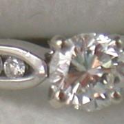 SALE Estate 14K .65 CT Diamond Ring