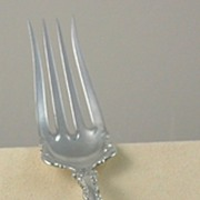 SALE Large Whiting Louis XV Meat Fork
