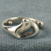 SALE Estate Sterling Silver Tiffany Peretti Heart Ring