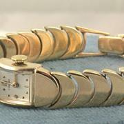Estate 1950's Concord 17 Jewel Swiss Gold Watch