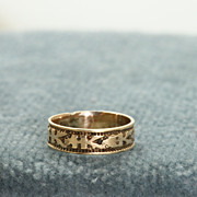 SALE Early 14K Baby Ring