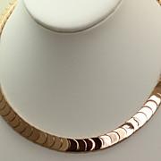 SALE Estate 18K Fine Rose Gold Necklace