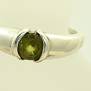 SALE Kabana Sterling 0.85 CT Tourmaline Ring