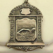 SALE 1947 Sterling Allied European Theatre Diving Medal