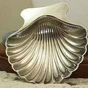 SALE Estate Tiffany Sterling Shell Dish