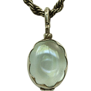SALE Estate Sterling Clear Locket