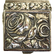 SALE Sterling Repose Rose Box