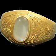 SALE 20 K Mogul Moonstone Ring