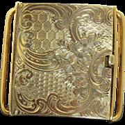 14 K 1880 Push Piece Clasp