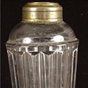 SALE Antique Flint Glass Whale Lamp