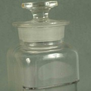 SALE Vintage Whitall Tatum Co. Apothecary Jar With Cover