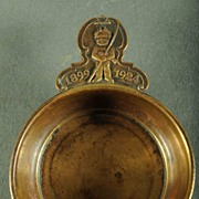 SALE Vintage 1924 College Or Prep School Bronze Porringer