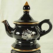 SALE Lovely Giffard Collectors Bottle Black Tea Kettle
