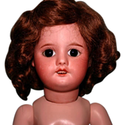 "REDUCED 14"" SFBJ 60 232 French doll bisque head"