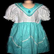 SALE Vintage doll dress