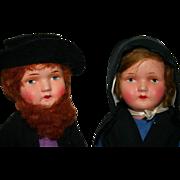 SOLD German dolls Original condition Amish - Red Tag Sale Item