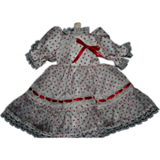 """SOLD Shirley Temple style doll dress costume for 18"""""""