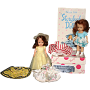 SALE Nancy Ann story book dolls original costumes Little Sister Series box