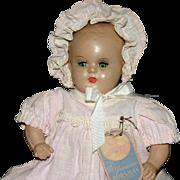"SALE 11"" composition Horsman baby doll original tag"