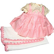 SALE Tagged Madame Alexander little Genius dress blanket