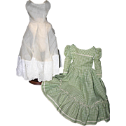 Vintage dress set slip large china lady doll Excellent