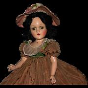 "SALE 18"" composition Madame Alexander Scarlett O'Hara original"