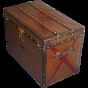 SOLD Louis Vuitton trunk...Vintage Louis Vuitton trunk...Louis Vuitton...