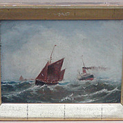 Ship painting...Painting of ships...Marine painting...