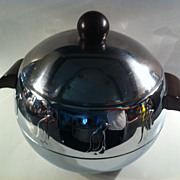 1950's Chrome Penguin Hot and Cold Server