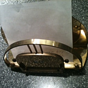 Brass Calendar Mail Holder
