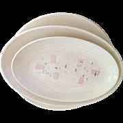 Vintage Tickled Pink Dinnerware by Vernon Kilns