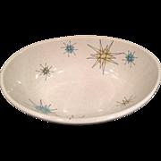 Franciscan Starburst Vegetable Bowl 1950's