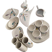 """Fabulous set of Metlox Poppytrail """"MOBILE"""" 1950's Dishes"""