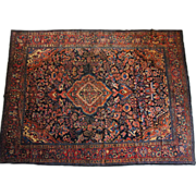 SOLD Persian Lilihan Wool Carpet