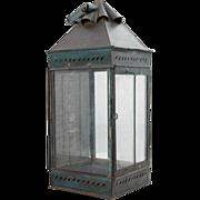 SOLD Anglo Indian Toleware Kerosene Lantern