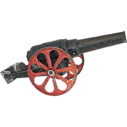 American Conestoga Co. Cast Iron Big-Bang Toy Model Cannon