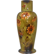 Very Large 25 in. English Arts and Crafts Wardle Pottery Vase