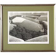 SOLD GRANT WOOD Lithograph, July 15th