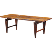 Danish Modern Illum Wikkelso for A. Mikael Laursen Rosewood Coffee Table
