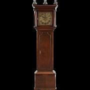 SOLD English William Brice Mahogany or Walnut Grandfather Clock