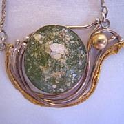 Avi Soffer Modernist Ancient Roman Glass Necklace