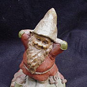 Vintage Tom Clark Gnome, 1985, Miles, Retired