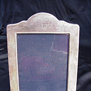 Vintage Sterling Silver Frame with Black Velvet Lining