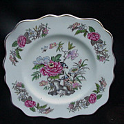 Vintage Cathay Square Salad/Dessert Plate, Wedgwood, England