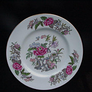 Wedgwood Cathay Bread and Butter Plate, Bone China, England